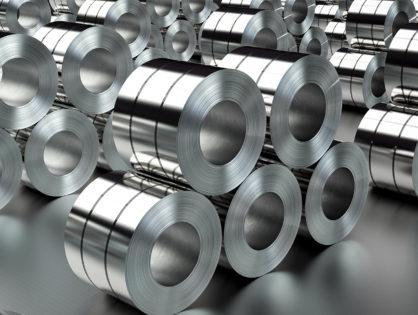 Оцинкованная сталь и сталь с глянцевым покрытием